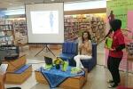 Talkshow Quantum Slimming di Gramedia Tunjungan Plaza - Surabaya.